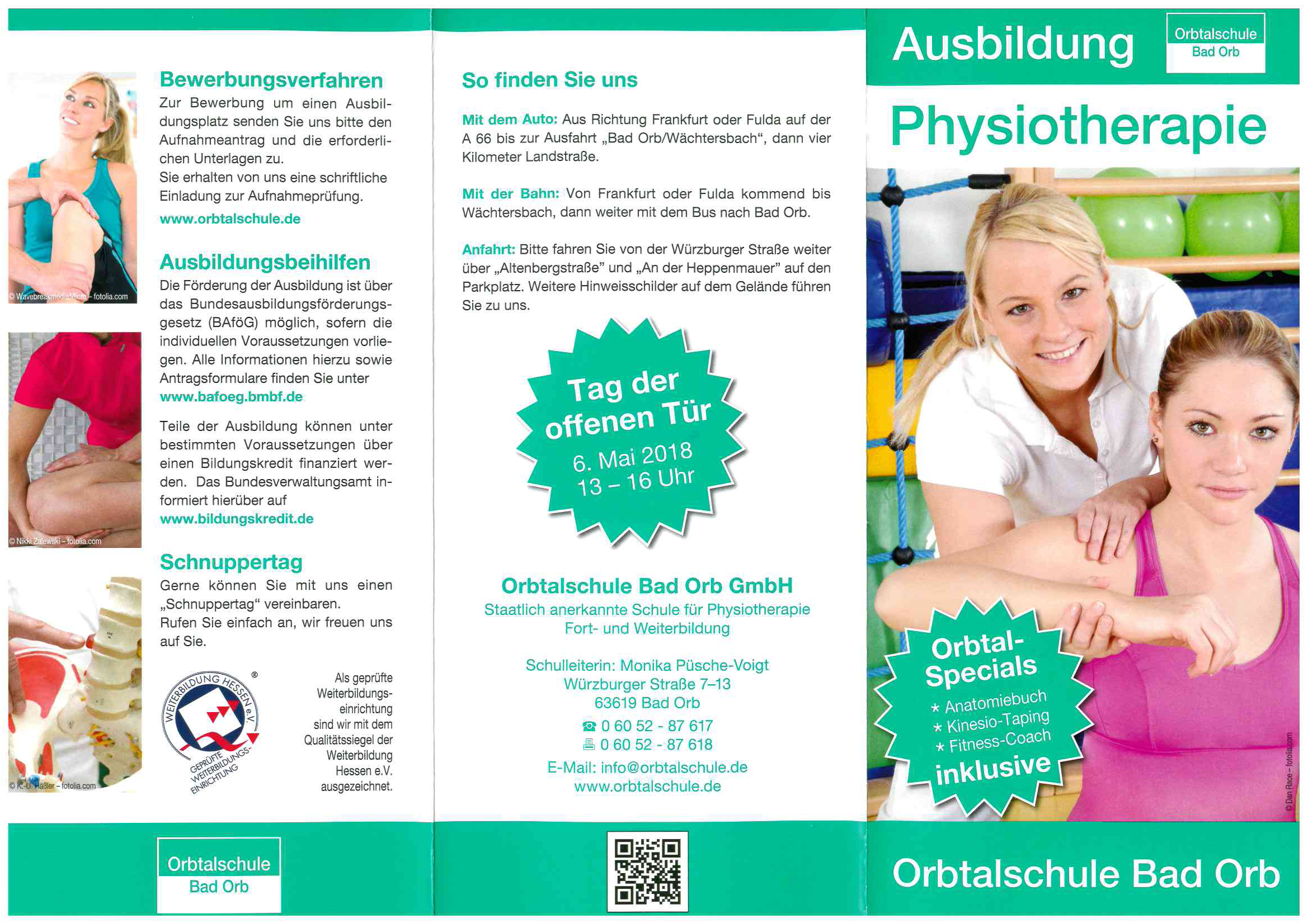 Orbtalschule Bad Orb GmbH, Schule für Physiotherapie | Meine