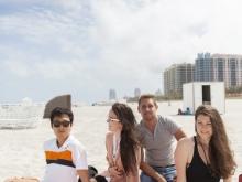Unsere Sprachschüler in Miami