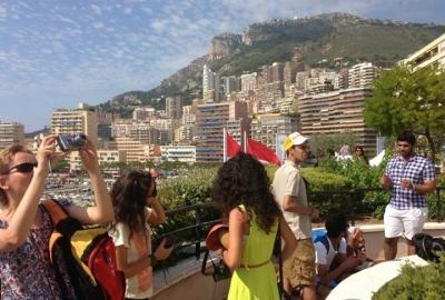Unsere Sprachschüler in Nizza - Ausflug nach Monaco